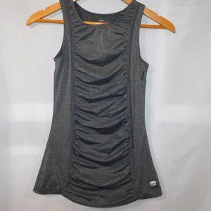 ROOTS womens xs Grey Workout Activewear Tank Top